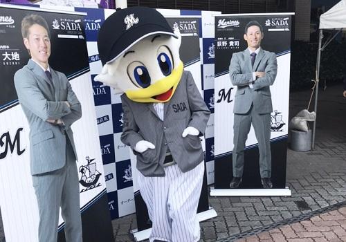 【03/31(日)】千葉ロッテマリーンズ オーダースーツスタジアム予約販売会を開催致しました!