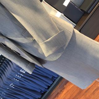 レディーススーツの袖オプション
