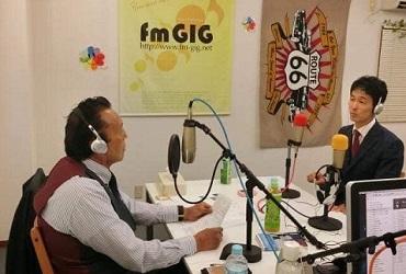 ラジオ番組 FM GIG「サップス佐藤のソウルエボリューション」に出演しました!