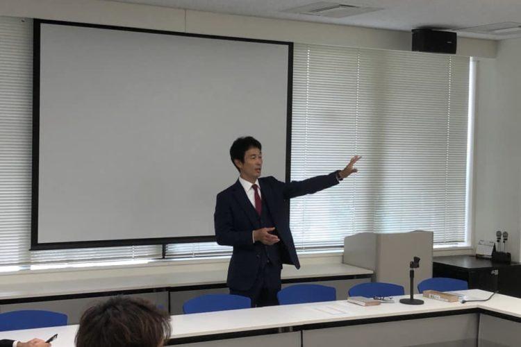 昨日は社内にて「社長塾」を開催!
