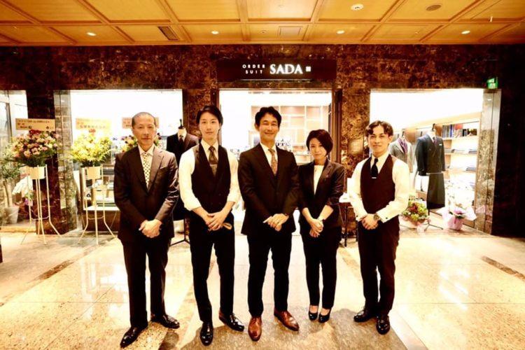 弊社55号店、オーダースーツSADA+東京駅新丸ビル店がオープンしました!