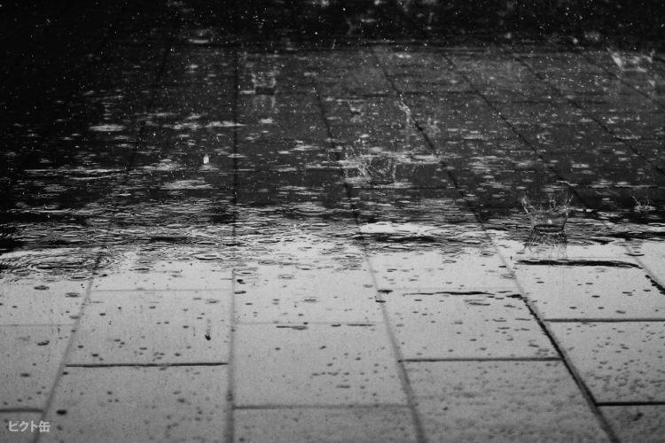 スーツが雨でぬれた時の対処法