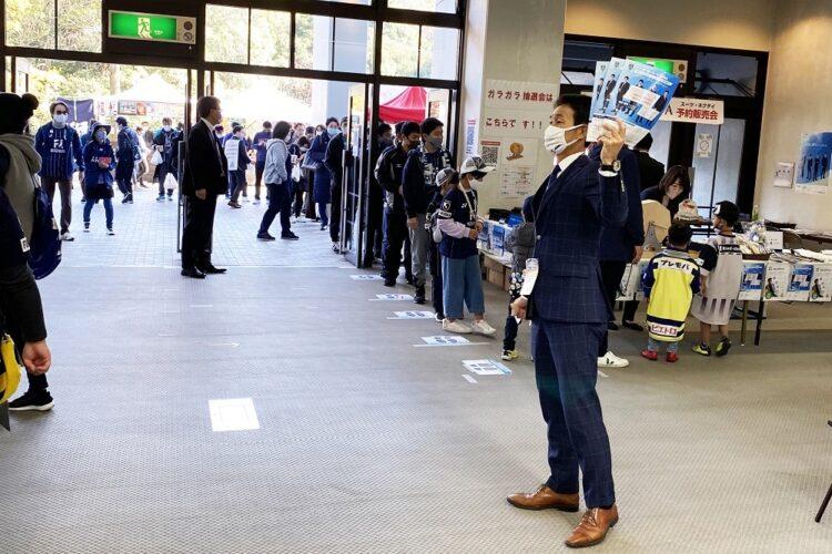 【12/06(日)】アビスパ福岡 オーダースーツSADAスタジアム予約販売会を開催致しました!