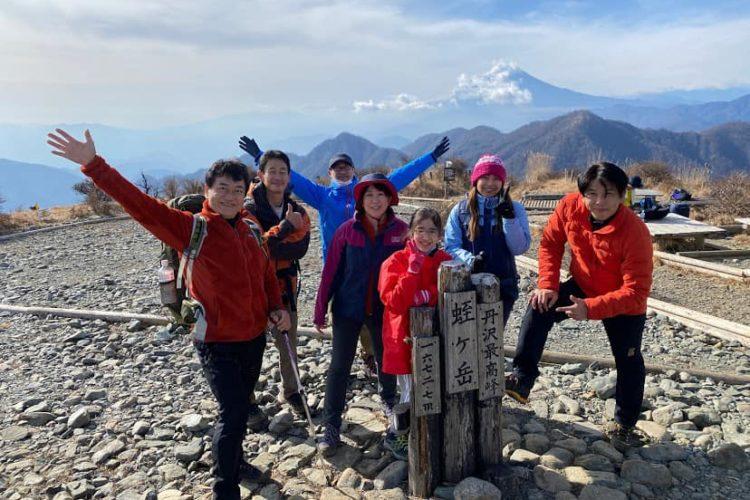 私が所属するEOの「山クラブ」に初参加!1泊2日で丹沢を縦走して参りました!