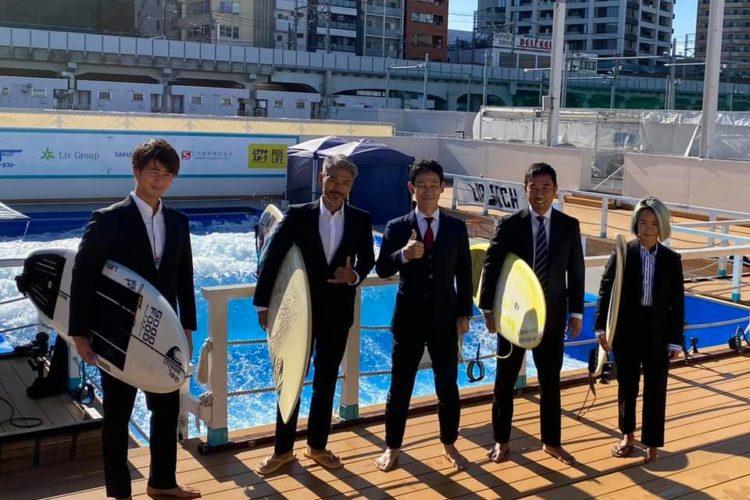 「オーダースーツで初サーフィン」に千葉テレビさんの企画で挑戦!先日、オンエアして頂きました!