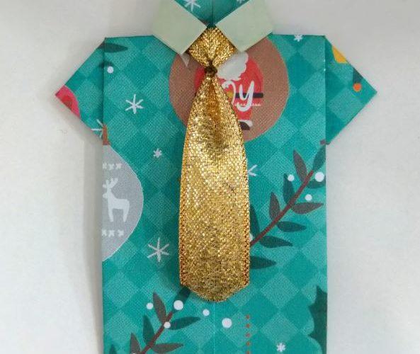 折り紙シャツ