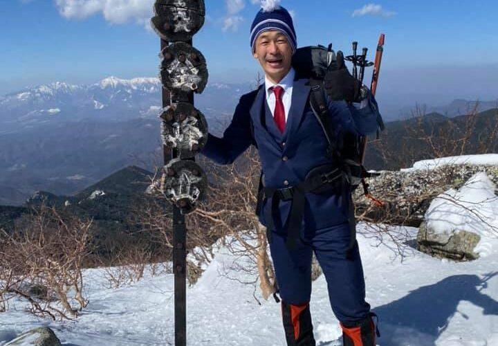 SADAのオーダースーツで、厳冬期の金峰山(標高2,599m、日本100名山)に挑んで参りました!