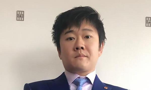 元(株)オウケイウェイヴ代表取締役社長、ビート・ホールディングス・リミテッドCEOの松田元様が、SADAでお仕立てしたオーダースーツ姿のお写真を下さいました!