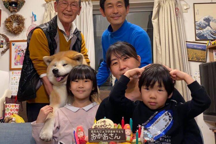 家族みんなで妻の誕生日会をやりました!