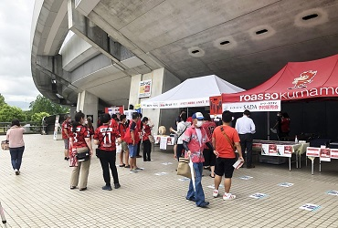 【5/16(日)】ロアッソ熊本 オーダースーツSADAスタジアム予約販売会を開催致しました!