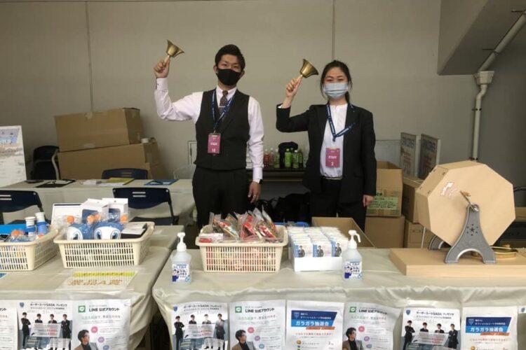 SADAが公式オーダースーツをご提供する横浜FCさんのホームスタジアムで、ブースを出させて頂きました!