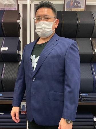お客様スーツコレクション【大阪谷町店】