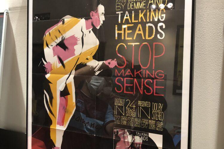 TALKING HEADSのSTOP MAKING SENCE