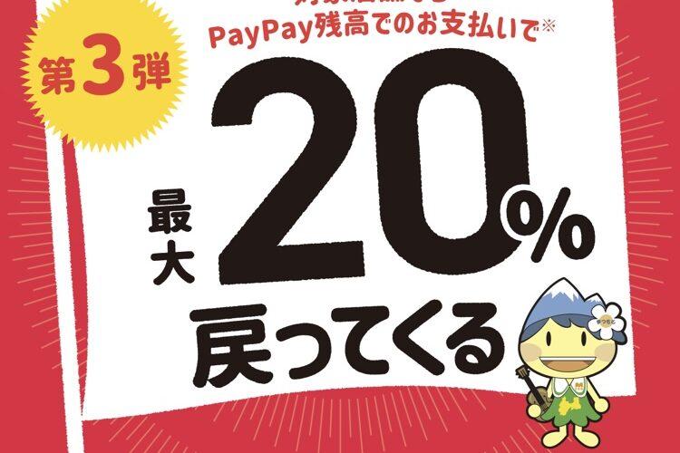 PayPayキャンペーンのご案内
