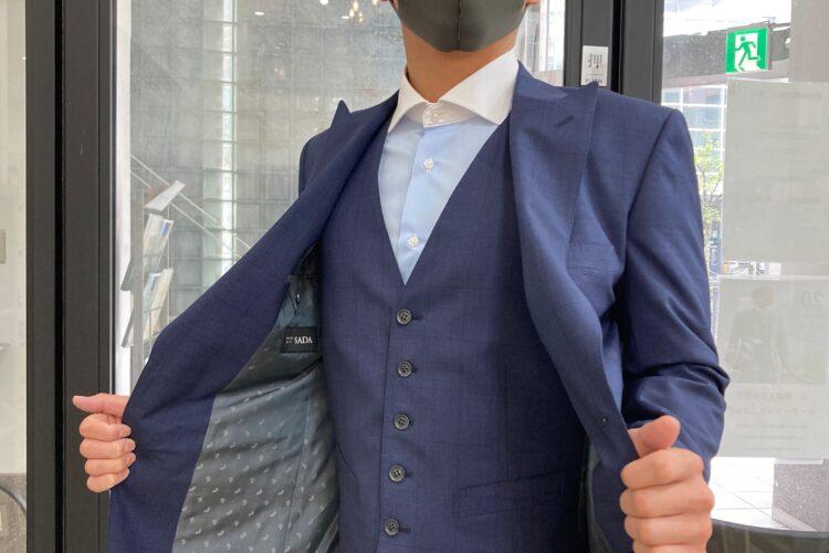 お客様スーツコレクション 紳士編