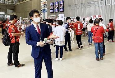 【9/18(土)】名古屋グランパス オーダースーツSADAマッチデーを開催致しました!