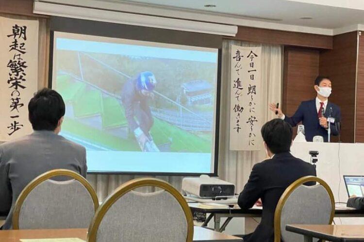 大田区倫理法人会のモーニングセミナーにて講話!